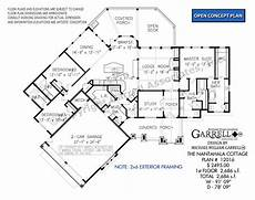 nantahala house plan nantahala cottage 12016 2686 garrell associates inc