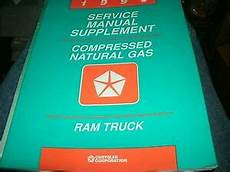 motor auto repair manual 1995 dodge ram 1500 electronic toll collection 1995 dodge ram truck compressed natural gas engine shop service manual supplemen ebay