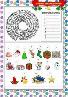 frohe weihnachten arbeitsblatt kostenlose daf arbeitsbl 228 tter