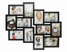 foto bilderrahmen bilderrahmen schwarz 12 fotos fotogalerie fotocollage