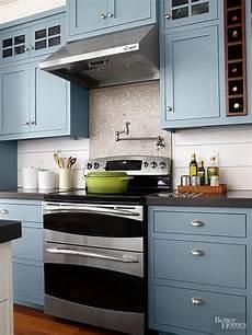 Kitchen Paint Colors Blue by Kitchen Cabinet Paint Color With Gorgeous Blue For
