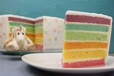 einfaches rezept fuer regenbogen regenbogentorte backen regenbogenkuchen rezept mit