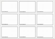 note card template 2 per page free printable flash cards template