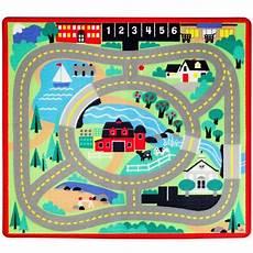tapis circuit de voiture pour enfant 100 x 91 cm