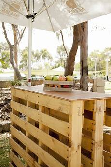 Rustic Pallet Hi Bar Tables Are For Your Next