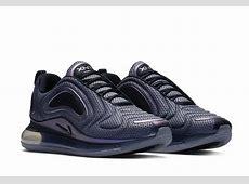 Nike Air Max 720 Black Metallic Silver AO2924 001 Release