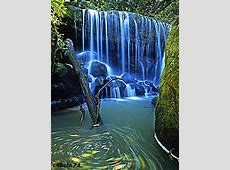 Download free Blue Waterfall Mobile Wallpaper contributed