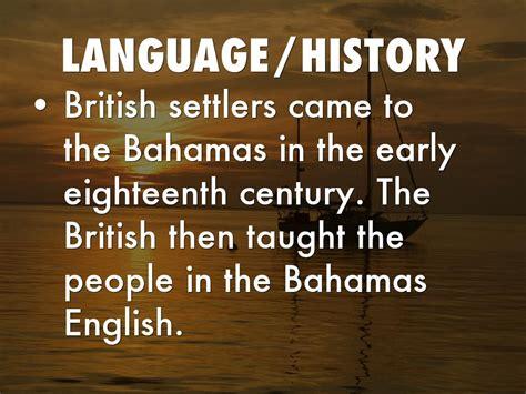 Language Spoken In Bahamas