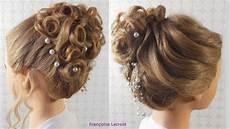coiffure mariage chignon tuto coiffure chignon boucl 233 mariage wedding hair bun