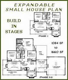 small expandable house plans build in stages house plans bs 1266 1574 ada small