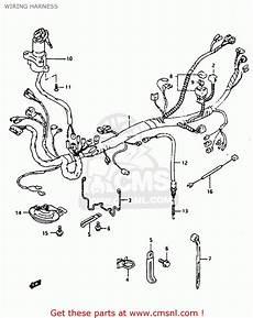 Suzuki King 750 Wiring Diagram by Suzuki Rg125fu 1992 N E02 E04 Wiring Harness