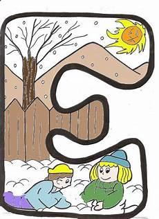 cosillas de infantil letras invierno