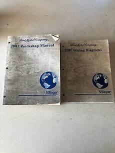 car repair manual download 2001 mercury villager parking system 2001 ford villager wiring diagrams service manuals manual oem ebay