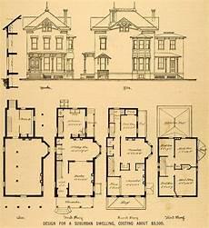 vintage victorian house plans vintage victorian house plans 1879 print victorian house