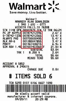 why can i not find out what sku number an item is using in a walmart receipt quora