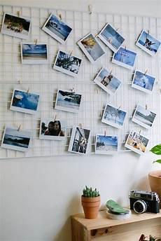 diy mesh photo inspiration board
