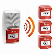 Alarme Type 4 Radio Avec Flash 3 D 233 Clencheur Manuel D
