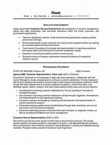 customer service resume summary exles resume summary