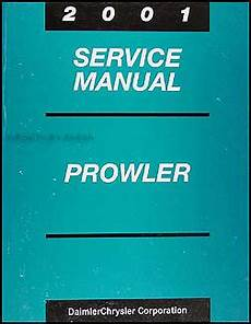 car owners manuals free downloads 2001 chrysler prowler spare parts catalogs 2001 chrysler plymouth prowler repair shop manual original