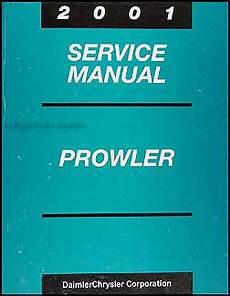best auto repair manual 2001 chrysler prowler parental controls 2001 chrysler prowler service manual original oem repair shop book plymouth ebay