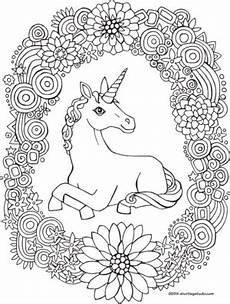 rainbow unicorn coloring pictures color