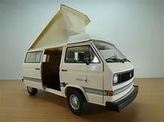 vw t3 volkswagen transporter t3 cing car westfalia beige 1 18