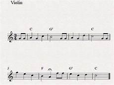 free easy violin sheet music happy birthday to you youtube