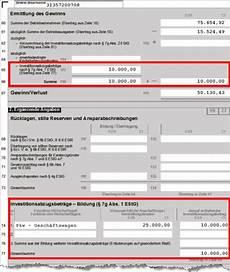 investitionsabzugsbetrag und sonderabschreibungen so