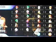 mario kart wii personnages tuto comment debloquer les personnages sur mariokart wii