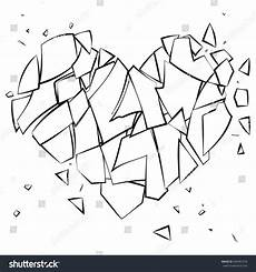 coloring page broken on white background broken