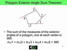 formula finding sum interior angles polygon