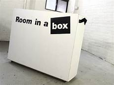 room in a box this pop up quot room in a box quot snaps together in 30 minutes