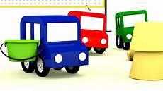 4 Kleine Autos - lehrreicher zeichentrickfilm die 4 kleinen autos sind am