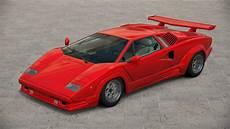 Lamborghini Countach 25th Anniversary Gt6 By