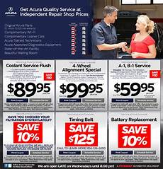 acura turnersville service specials print save