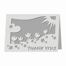 free quot thank you quot card svg file cricut cards thank you
