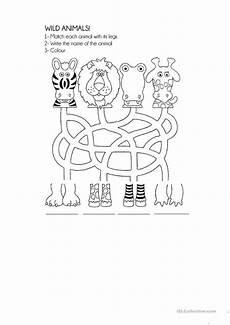 animals worksheet for preschool 14121 66 free esl animals worksheets