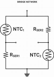 temperature sensor for control and compensation circuits ametherm