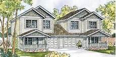 duplex house plans with garage duplex plan chp 26919 craftsman house plans garage