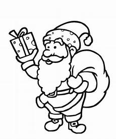 santa claus free coloring pages allfreechristmascrafts