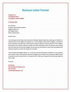 35 formal business letter format templates exles ᐅ templatelab