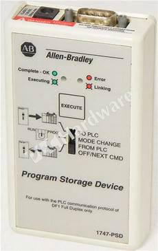 plc hardware allen bradley 1747 psd series c used in a factory packaging