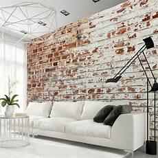 papier peint mur en papier peint aspect vieux mur de briques papier peint