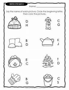 winter words worksheets 20121 letter word match winter worksheets by souly creations