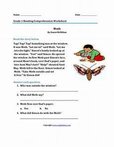 comprehension worksheets 15452 1st grade reading comprehension worksheets to printable math worksheet for