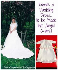 donating wedding gowns why i gave away my wedding gown from overwhelmed to