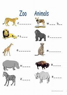 zoo animals worksheet free esl printable worksheets made by teachers