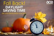 when does the time change for fall daylight saving time 2019 ace weekly