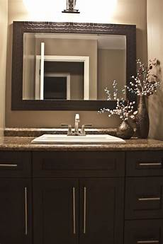 Bathroom Ideas Brown Vanity by Espresso Brown Shaker Style Bathroom Vanity With A Leather