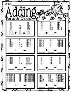 addition worksheets with tens and ones 9662 adding tens and ones place value addition st s day tens ones place values math